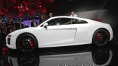Audi R8 V10 RWS side profile at IAA 2017