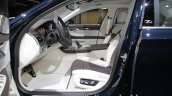 BMW 7 Series Edition 40 Jahre front seats at IAA 2017