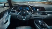 BMW Concept X7 dashboard driver side leaked image