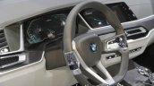 BMW Concept X7 iPerformance steering wheel instrument at IAA 2017
