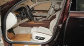 BMW Individual M760Li inspired by Nautor's Swan front seats
