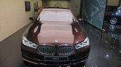 BMW Individual M760Li inspired by Nautor's Swan front