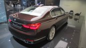 BMW Individual M760Li inspired by Nautor's Swan rear three quarters right