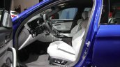 BMW M5 front seats at IAA 2017