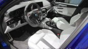 BMW M5 interior at IAA 2017