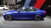 BMW M5 side at IAA 2017