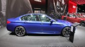 BMW M5 side profile at IAA 2017