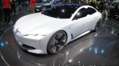 BMW i Vision dynamics front three quarters left side at the IAA 2017