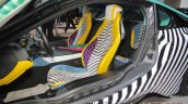 BMW i8 MemphisStyle Edition seats at IAA 2017