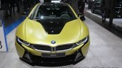 BMW i8 Protonic Frozen Yellow Edition front at IAA 2017