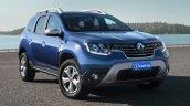 Brazilian-spec 2018 Renault Duster front three quarters rendering