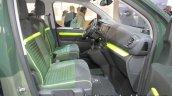Citroen SpaceTourer Rip Curl Concept front seats at IAA 2017