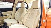 Custom 2017 Maruti Dzire by KitUp Automotive front seats