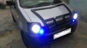 Custom Maruti Wagon R 'RDxRaider' hood