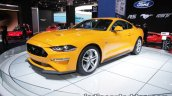 Euro-spec 2018 Ford Mustang GT front three quarter showcased at IAA 2017