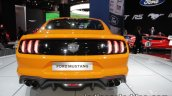 Euro-spec 2018 Ford Mustang GT rear showcased at IAA 2017