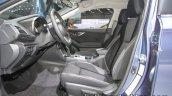 Euro-spec 2018 Subaru Impreza interior at the IAA 2017