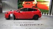 Euro-spec 2018 Subaru Impreza side at the IAA 2017