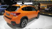 Euro-spec 2018 Subaru XV rear quarter at the IAA 2017