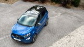 Ford EcoSport ST-Line EcoBlue front three quarters top view