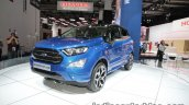 Ford EcoSport ST-Line front three quarter left at IAA 2017