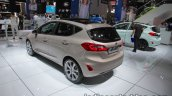Ford Fiesta Vignale rear three quarters angle at IAA 2017