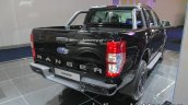 Ford Ranger Black Edition rear three quarters at IAA 2017