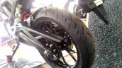 Honda CB150R ExMotion Live Images rear tyre