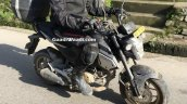 Honda Grom spied in India front right quarter