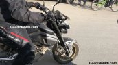 Honda Grom spied in India fuel tank