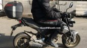 Honda Grom spied in India right side