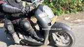 Honda Scoopy Spied in India front right quarter headlight