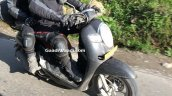 Honda Scoopy Spied in India front right quarter