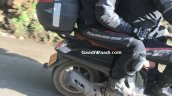 Honda Scoopy Spied in India rear right side