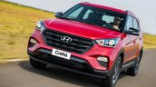 Hyundai Creta Sport front three quarters in motion