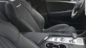 Hyundai Genesis G70 spied interior front seats