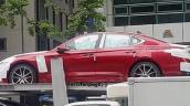 Hyundai Genesis G70 spied side