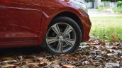 Hyundai Verna 2017 test drive review alloy wheels