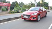 Hyundai Verna 2017 test drive review front action