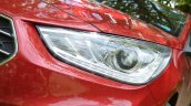 Hyundai Verna 2017 test drive review headlamp