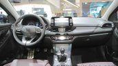 Hyundai i30 Fastback dashboard at IAA 2017