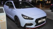 Hyundai i30 N front three quarters at IAA 2017
