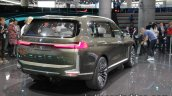 BMW Concept X7 iPerformance rear three quarters right at IAA 2017