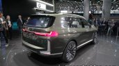 BMW Concept X7 iPerformance rear three quarter angle at IAA 2017