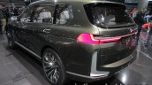 BMW Concept X7 iPerformance rear three quarter angle left at IAA 2017