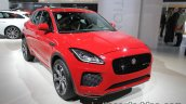 Jaguar E-Pace front three quarters at IAA 2017