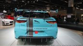 Jaguar i-Pace eTrophy rear at the IAA 2017
