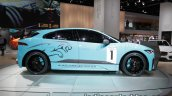 Jaguar i-Pace eTrophy side at the IAA 2017
