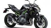 Kawasaki Z900 A2 green studio shot