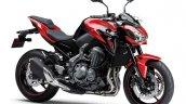 Kawasaki Z900 A2 red studio shot